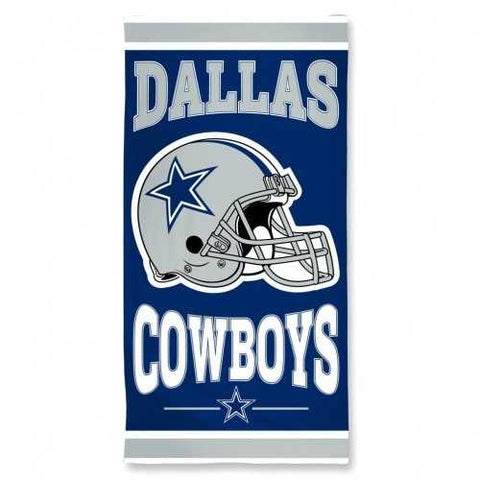 Dallas Cowboys Towel 30x60 Beach Style