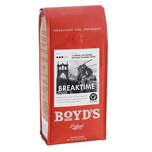 Boyd's Coffee Ground Coffee Breaktime (6x12 OZ)