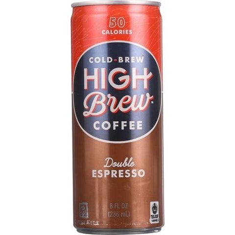 High Brew Coffee Double Espresso (12x8 OZ)