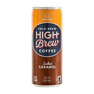 High Brew Coffee Salted Caramel (12x8 OZ)