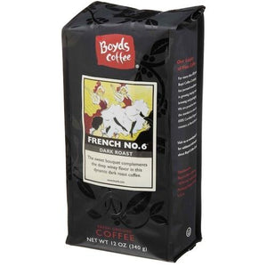Boyds Coffee French No 6 Coffee (6x12OZ )