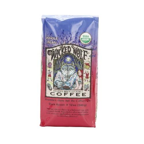 Raven's Brew Coffee Wckd WoLeaf Blend Bn (6x12OZ )