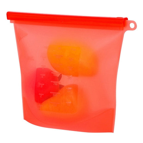 Reusable Silicone Vacuum Seal Food Fresh Bag