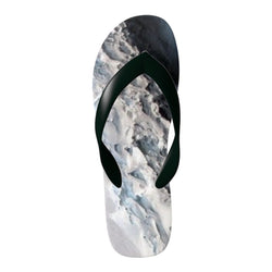 Flinchies (TM) Moon Rock Flip Flops