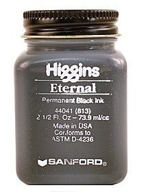 Image of Eternal Black Writing Ink