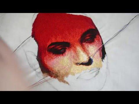 Easy Embroidery Art Pen Punch Needle