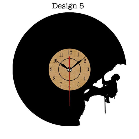 Image of Vinyl Record Wall Clock