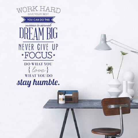 Image of Dream Big Inspiring Wall Decal