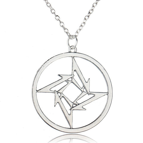 Image of Ninja Star Necklace