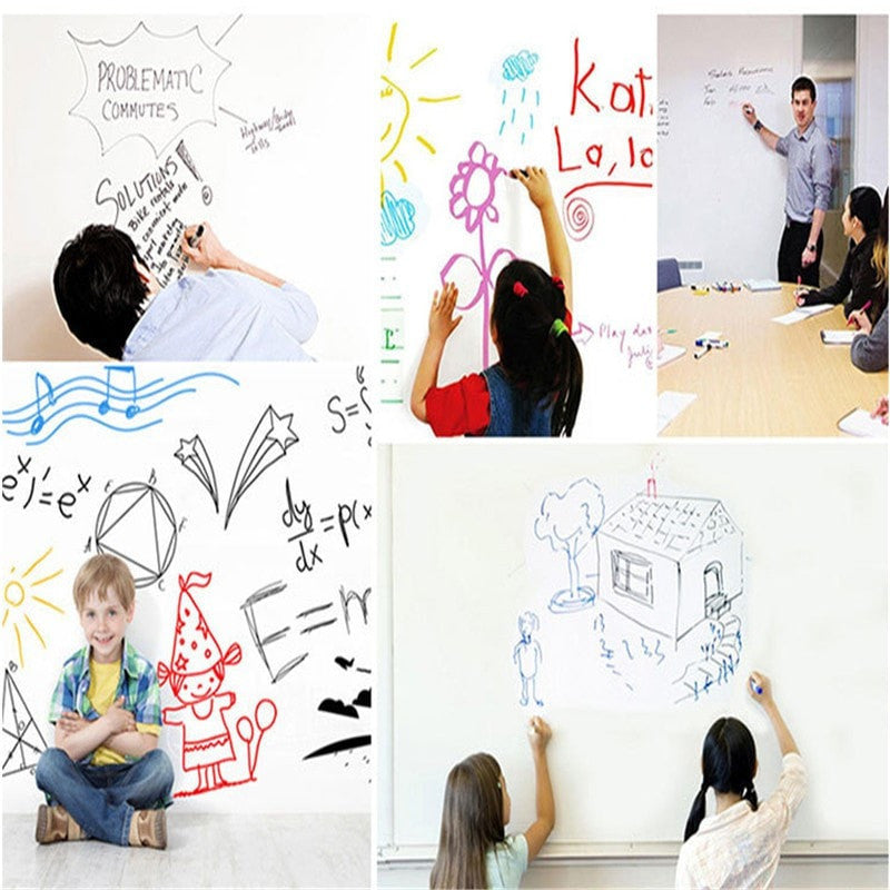 Removable Whiteboard Decals With Marker