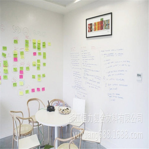 Image of Removable Whiteboard Decals With Marker