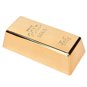 Gold Bar Door Stop & Paperweight