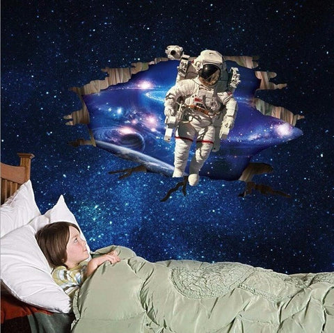 3D Outer Space Decals