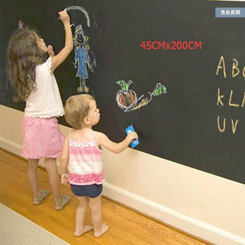Image of Blackboard Wall Decal