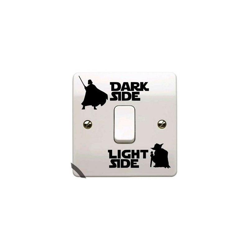 Star Wars Dark Light Side Decal