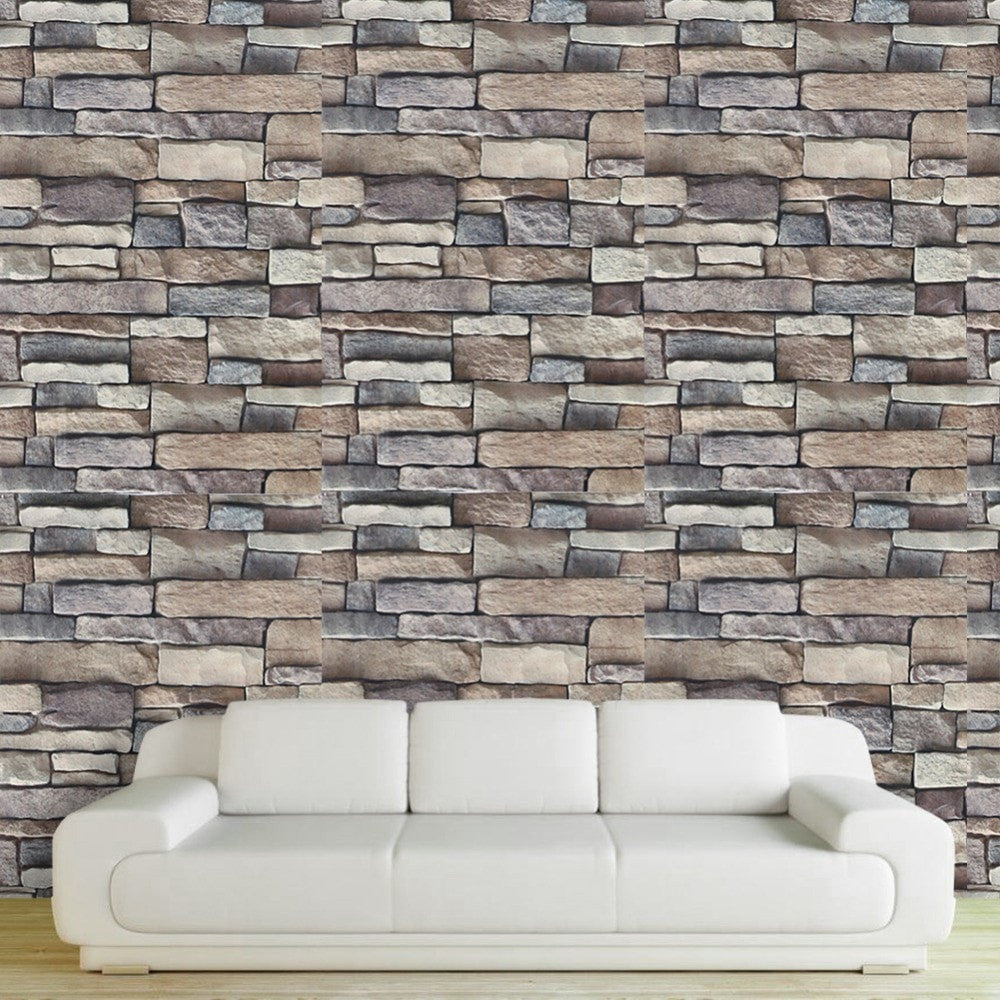 Stone Wall Decals