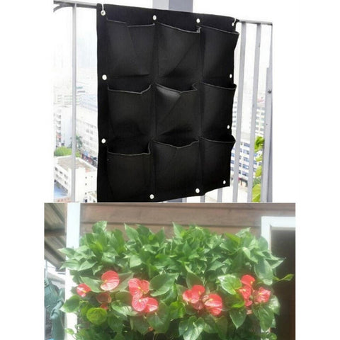 Image of 9 Pocket Vertical Planter