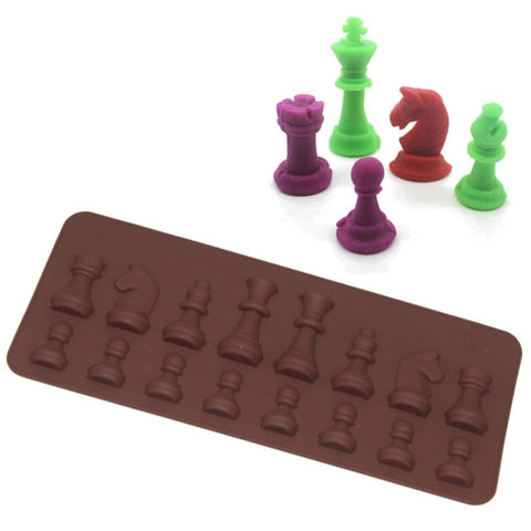 Image of Chess Ice or Chocolate Mold