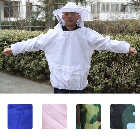 Image of Beekeeping Smock & Veil