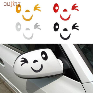 Cute Winking Decal