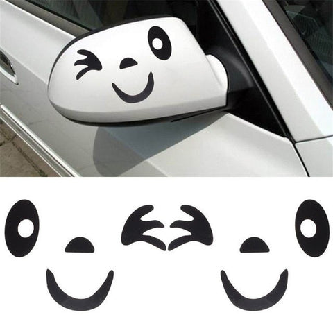 Image of Cute Winking Decal