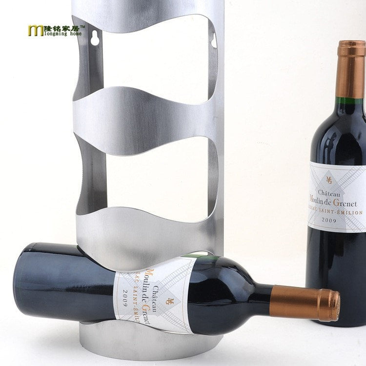 Contemporary Wine Rack