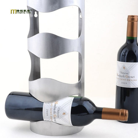 Image of Contemporary Wine Rack