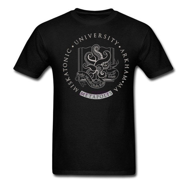 Cthulhu in Miskatonic University at Metapolis T Shirt