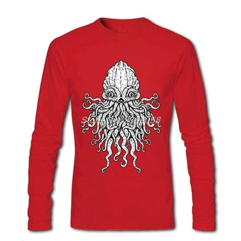 Image of New Arrival Long Sleeve Cthulhu T-Shirt