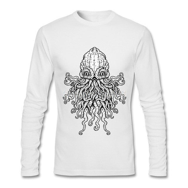 New Arrival Long Sleeve Cthulhu T-Shirt