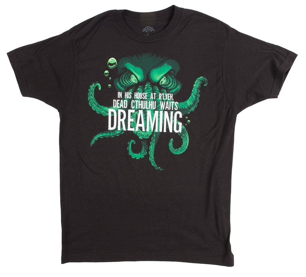Dead Cthulhu Waits Dreaming Men's T-shirt