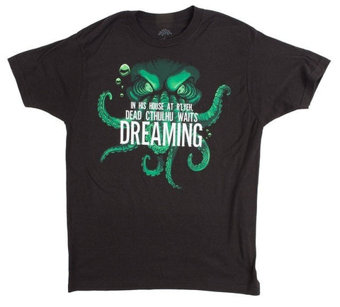 Image of Dead Cthulhu Waits Dreaming Men's T-shirt