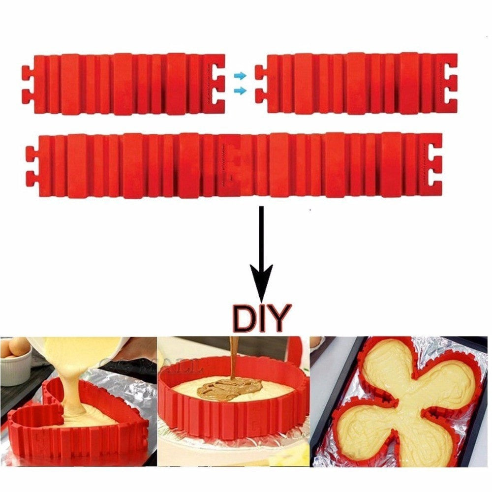 Flexible Silicone Bottomless Cake Mold