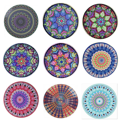 Image of Mandala Tapestry Beach Towel / Yoga Mat