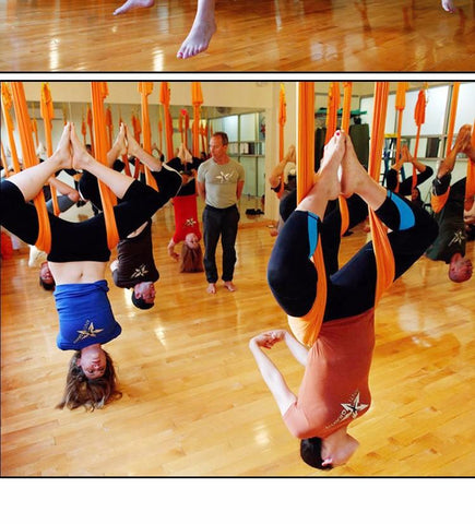 Image of Anti-Gravity Decompression Inversion Yoga Trapeze