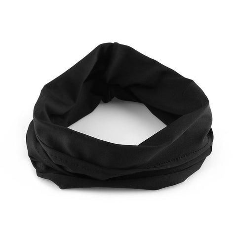 Wide Nonslip Stretchy Turban Yoga Headband