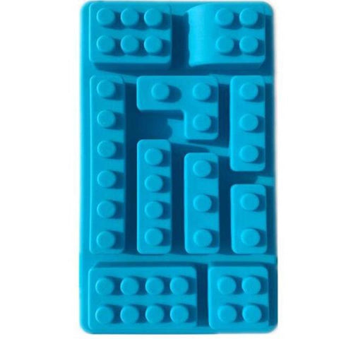 Image of Lego Style Silicone Cake Fondant / Chocolate / Ice Mold