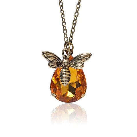 Image of Bee & Honey Pendant