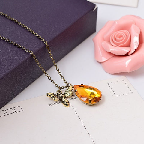 Bee & Honey Pendant