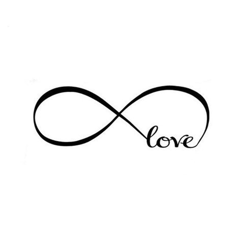 Image of Infinite Love Wall Decal