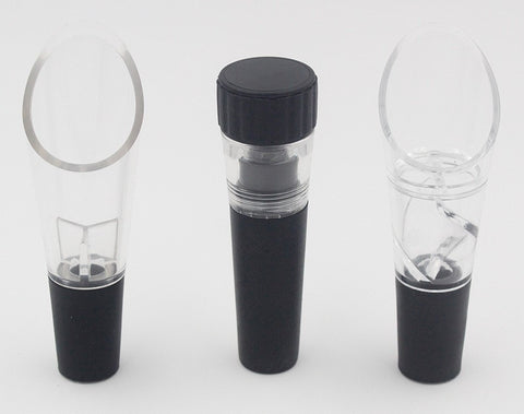 Image of Vacuum Seal Bottle Stopper & Automatic Aerator