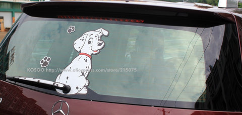 Image of Cute Dalmation Car Decal