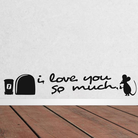Cute Mouse-Love Decals