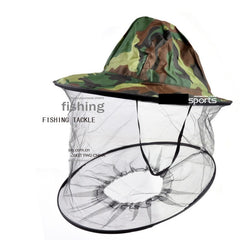 Multi-Use Beekeeping & Anti- Mosquito Fishing Hat