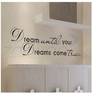 Dreams Come True Wall Decal