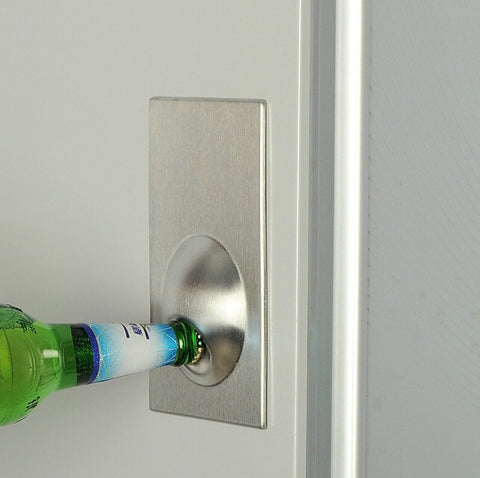 Stainless Steel Fridge Magnet Bottle Opener