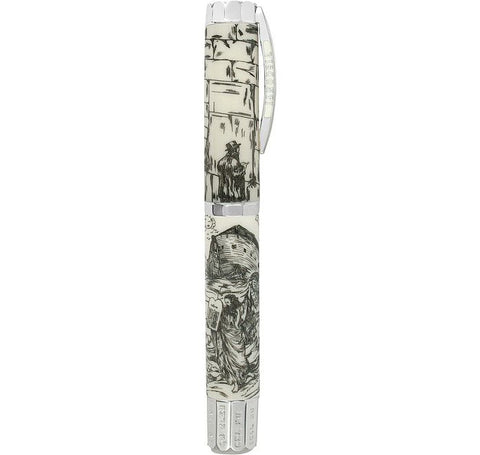 Image of The Jewish Bible Silver - Limited Edition Fountain Pen