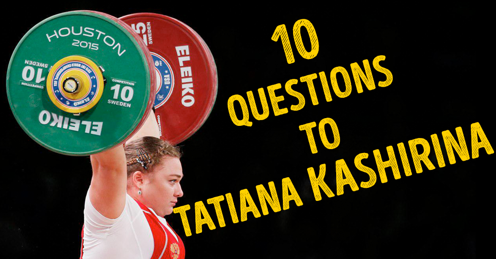 10 QUESTIONS TO TATIANA KASHIRINA