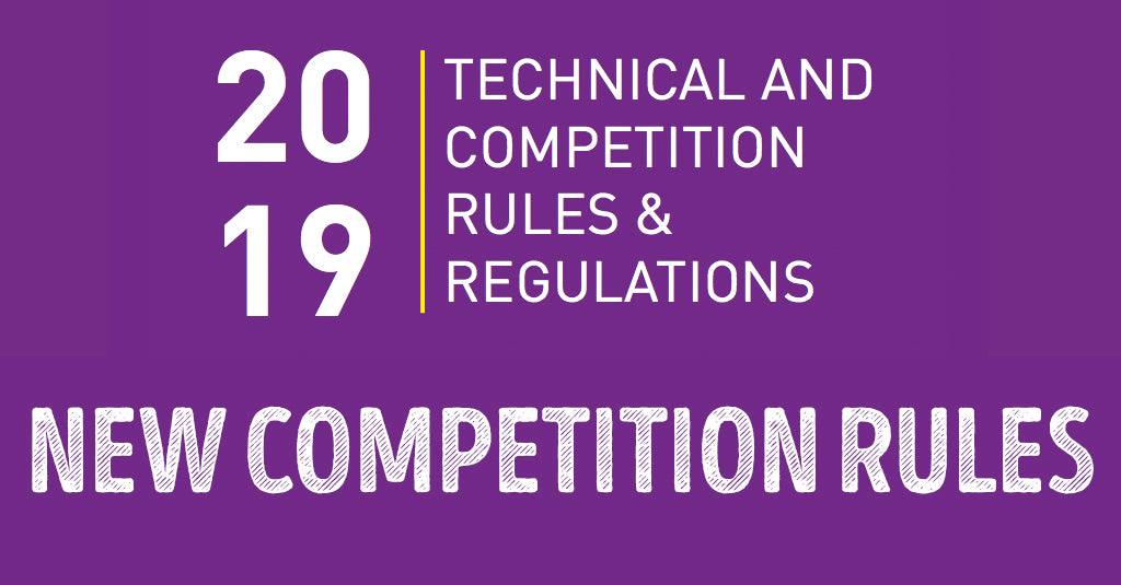 NEW COMPETITION RULES