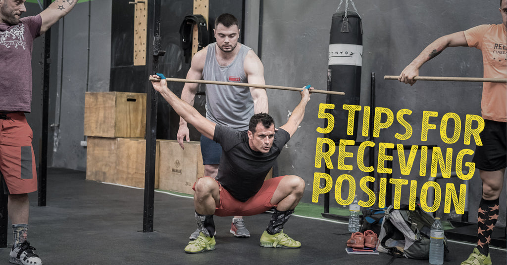 5 TIPS FOR RECEIVING POSITION IN SNATCH